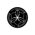 松井氏-竹輪に九枚笹