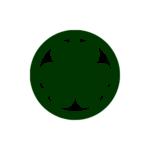 越前松平家-丸に三葵