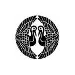 陸奥石川氏-対い鶴紋
